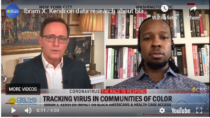 Dr. Kendi on the news