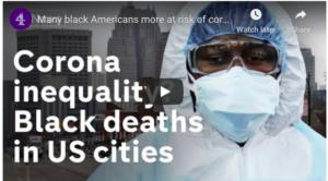 photo of black medical worker